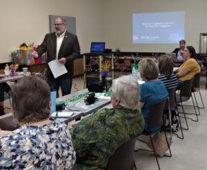 Davis & Crump partner, Martin Crump, presents at the 2019 Mississippi NALS winter meeting.
